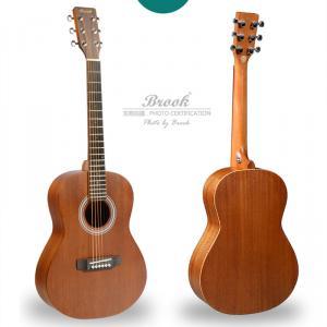 布鲁克BROOK HB50 沙比利单板旅行吉他 儿童吉他