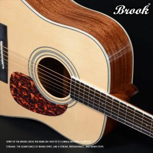 正品BROOK布鲁克52云杉单板吉他[原声款]