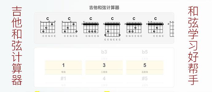 吉他和弦计算器-和弦学习好帮手