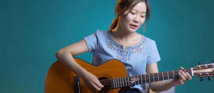 [优质谱推荐]小潘潘 小峰峰《学猫叫 G调精华版》吉他谱