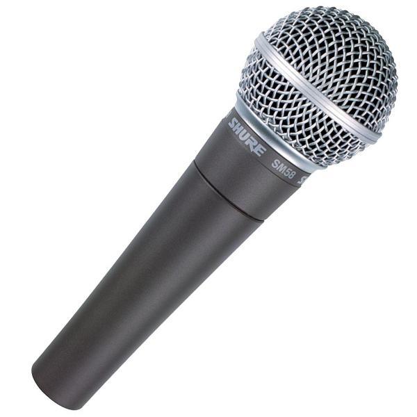 Shure舒尔 SM58经典乐器录音话筒