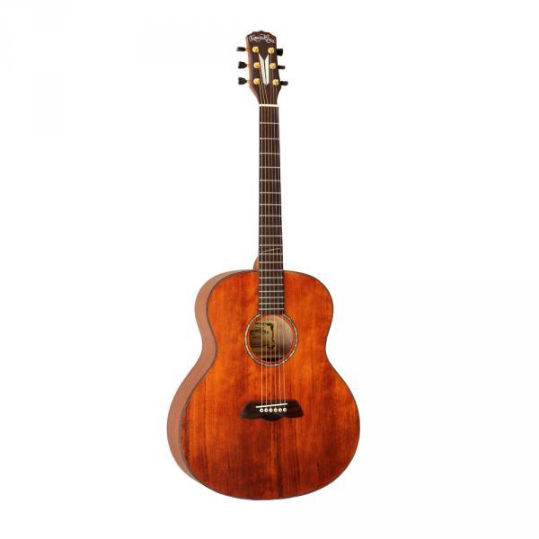 川岛KAWASHIMA KH-11 复古型单板民谣吉他