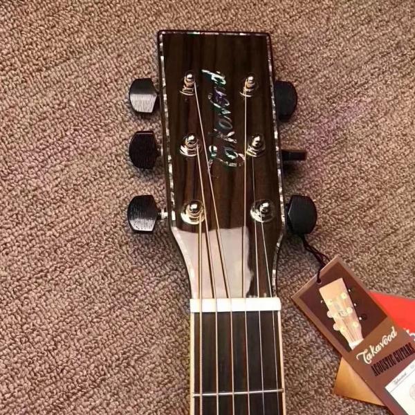 takavood中档单板TOM-780C NA 41寸单板民谣吉他